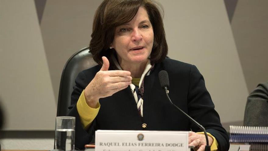 """La nueva fiscal general de Brasil asume el cargo en un momento """"de depuración"""""""