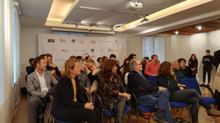 La Palma ha vuelto a promocionarse como plató de cine en la conferencia de prensa que ha tenido lugar este jueves en Madrid para presentar a los nominados a los premios de la Unión de Actores y Actrices de España 2017.