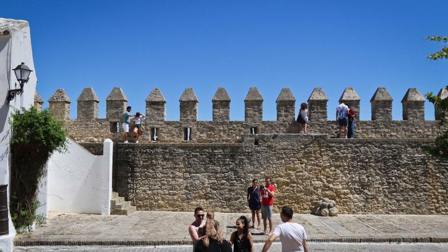Murallas del casco antiguo de Vejer.