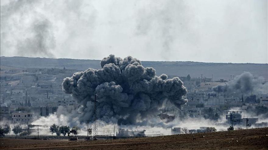La coalición internacional lanza 23 ataques contra el EI en Siria y 18 en Irak