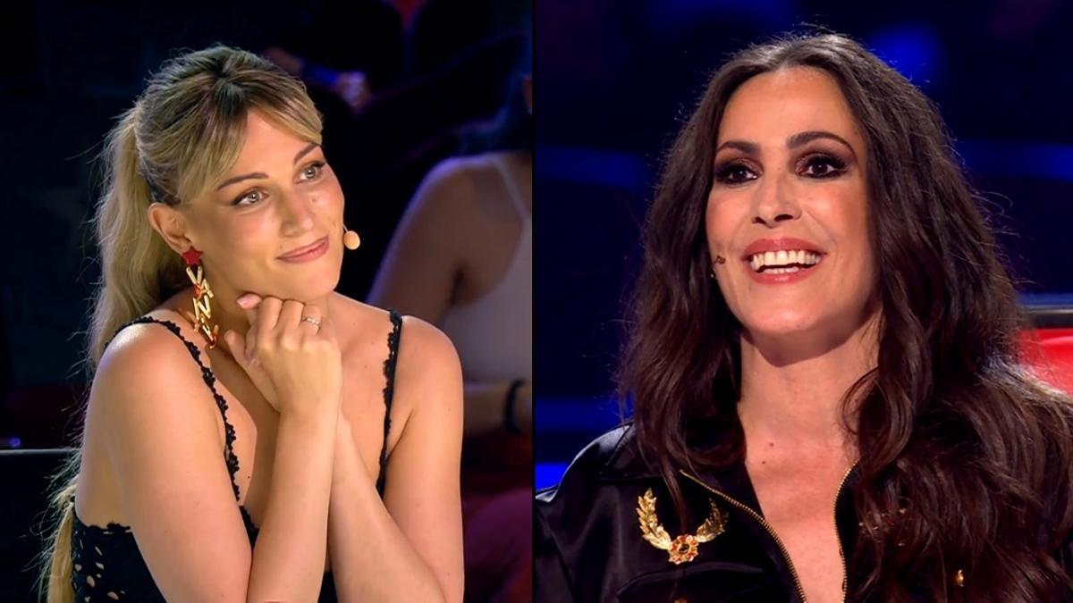 Edurne en 'Got Talent' / Malú en 'La Voz'