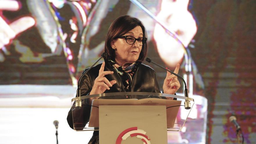 Dolores Gorostiaga (PSOE), presidenta del Parlamento de Cantabria.