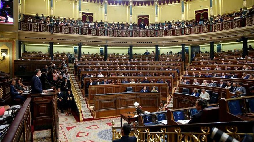 El Congreso vota por segunda vez la investidura de Rajoy, fallida salvo sorpresas