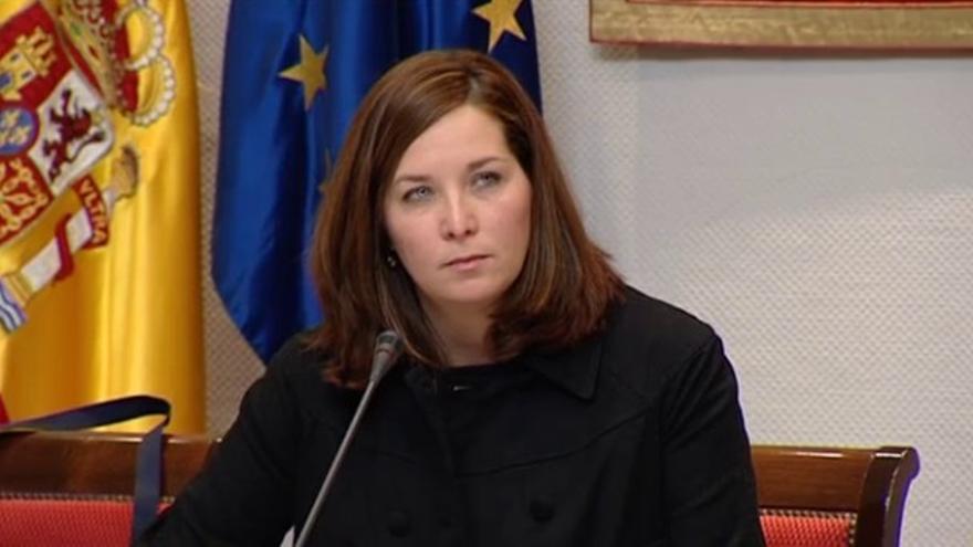 Fotograma RTVC. María Lorenzo, consejera en el ente Público del PSC-PSOE.