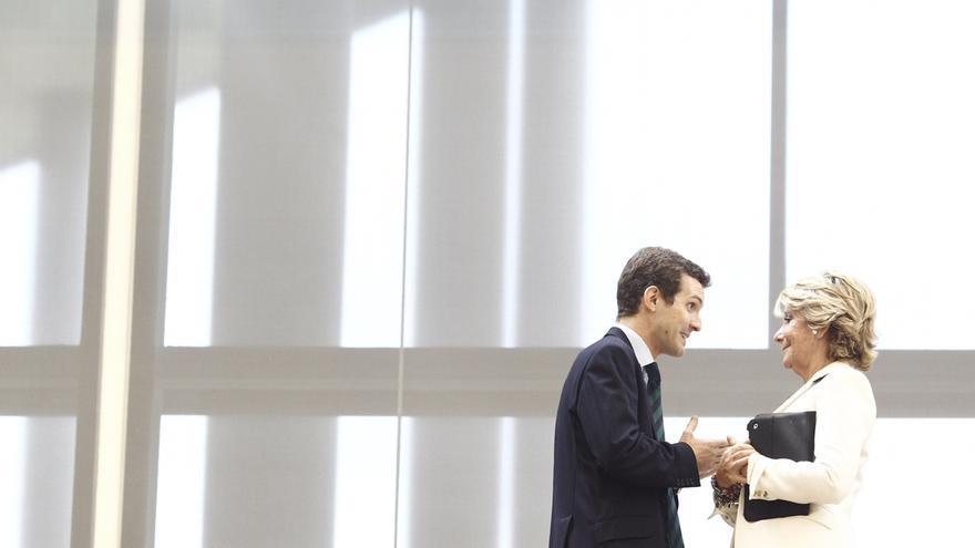 Aguirre participa este domingo junto a Casado en un acto de campaña en Ávila