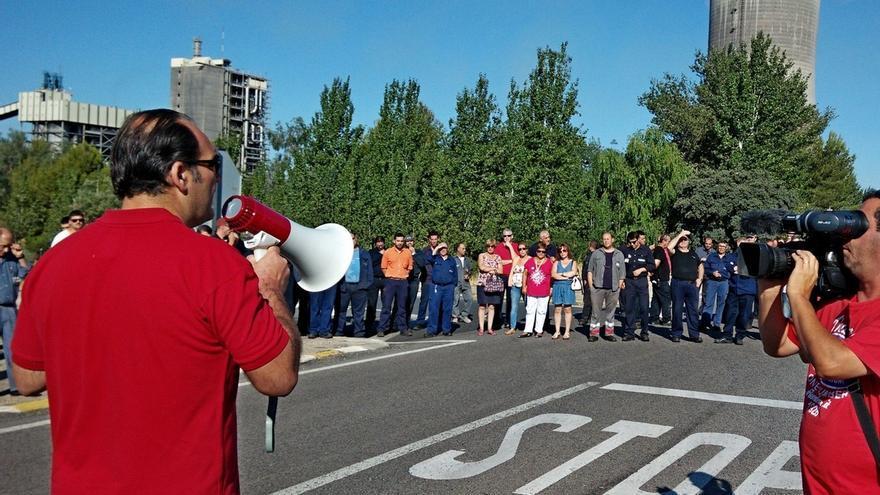 Los trabajadores de Elcogas se manifestarán el 17 de septiembre en Puertollano contra el cierre de la planta