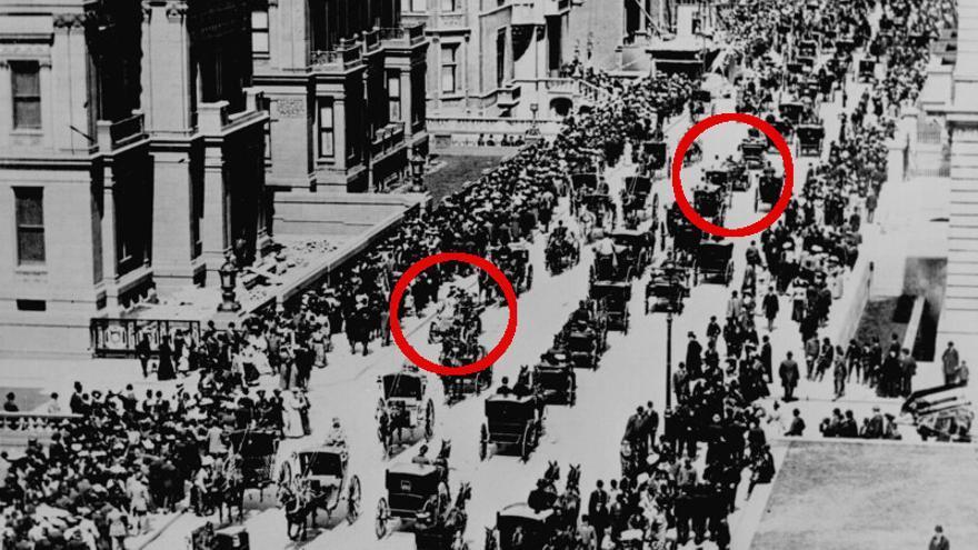 La Quinta Avenida de Nueva York el día de Pascua de 1900