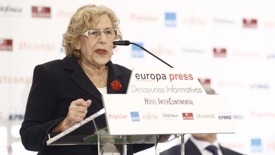 """Carmena confía en el """"minuto yugoslavo"""" porque aún hay posibilidades de pactar por """"poco tiempo"""" que quede"""