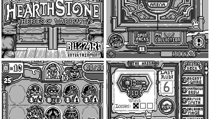 Hearthstone Gameboy