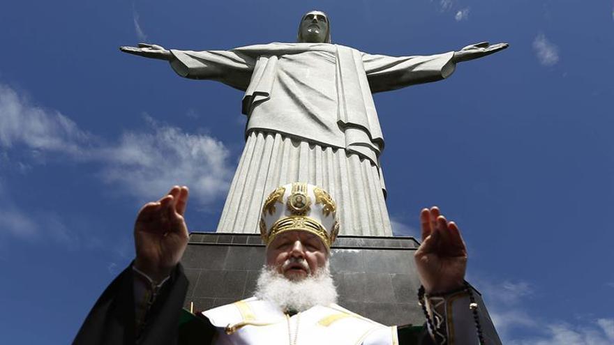 El patriarca Kiril concluye en Sao Paulo su histórica gira por Latinoamérica