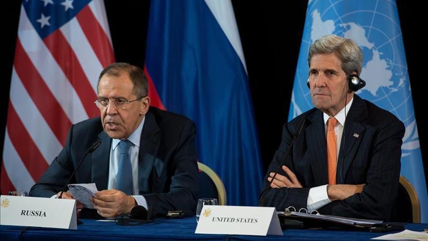 EEUU y Rusia acuerdan el cese en una semana de la violencia en Siria