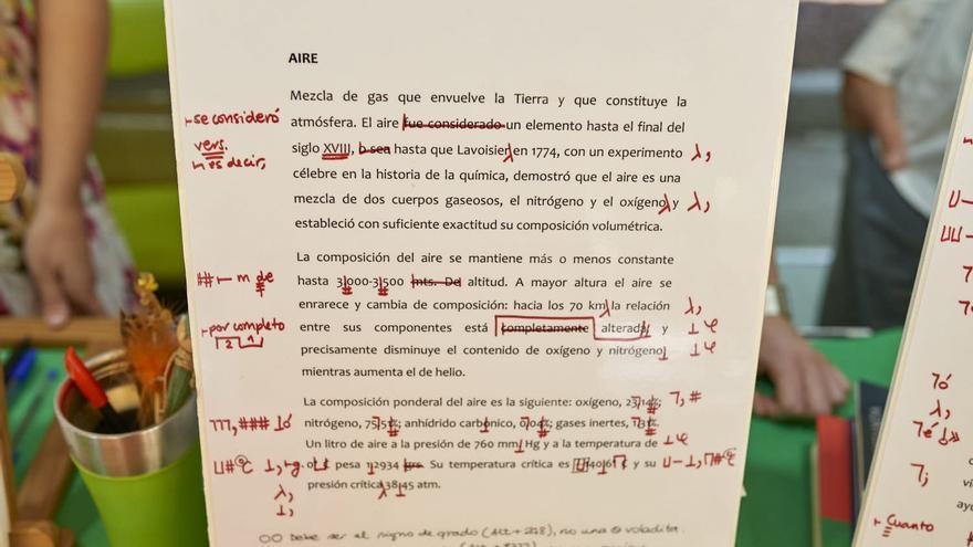 Ejemplos de correcciones en las traducciones