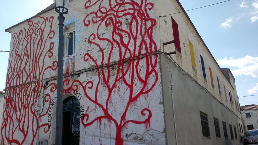 La Casa del Pueblo de la localidad de Casas de Don Pedro, transformada en un contenedor de arte / AUPEX