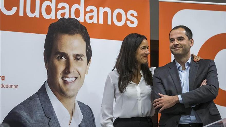 Aguado (C's) anima a los madrileños a coger las riendas de su futuro el 24M