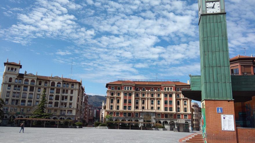 Cielos con nubes en Euskadi.