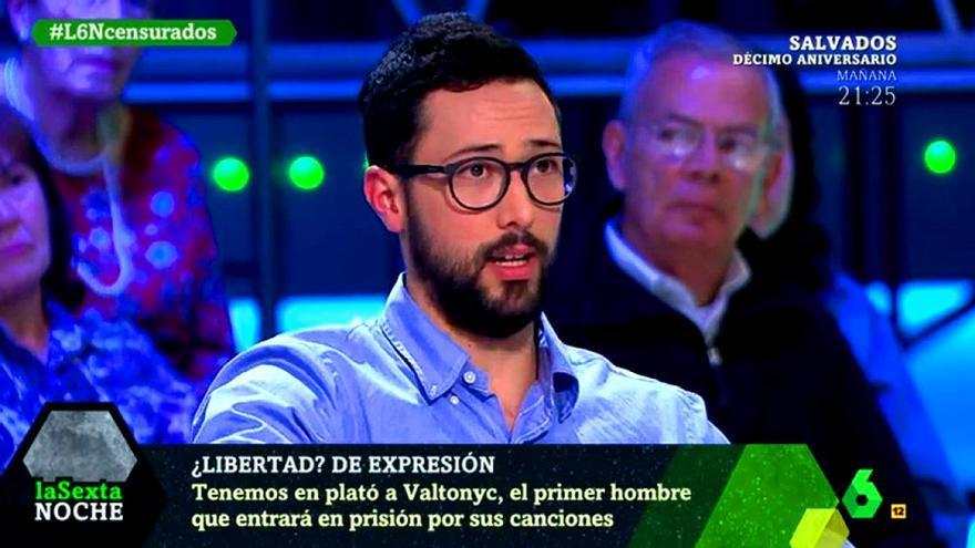 """Valtonyc en """"laSexta Noche"""""""
