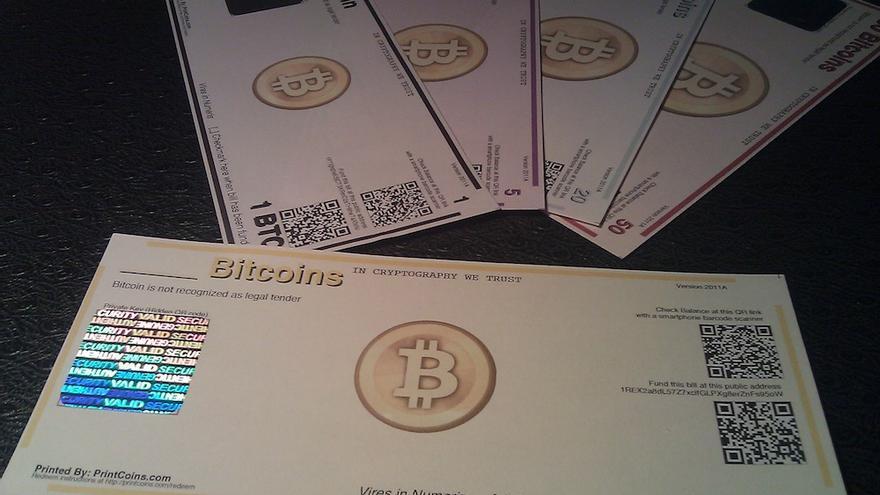 Printcoins es una empresa de impresión de billetes respaldados en bitcoins