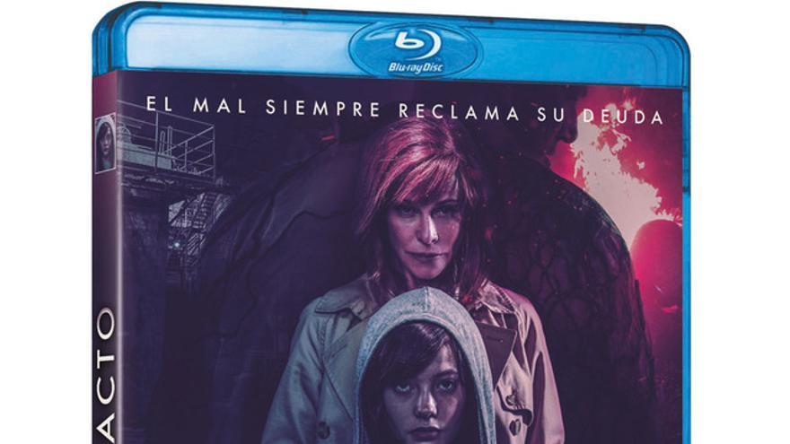Imagen promocional del Blu-Ray de 'El pacto'