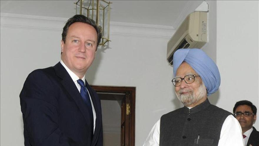 Cameron, partidario de que India entre en el Consejo de Seguridad de la ONU