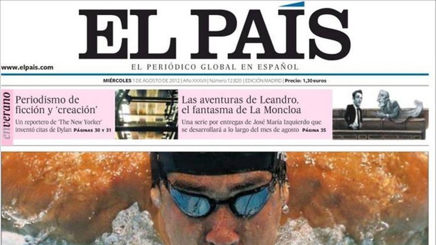 De las portadas del día (01/08/2012) #7