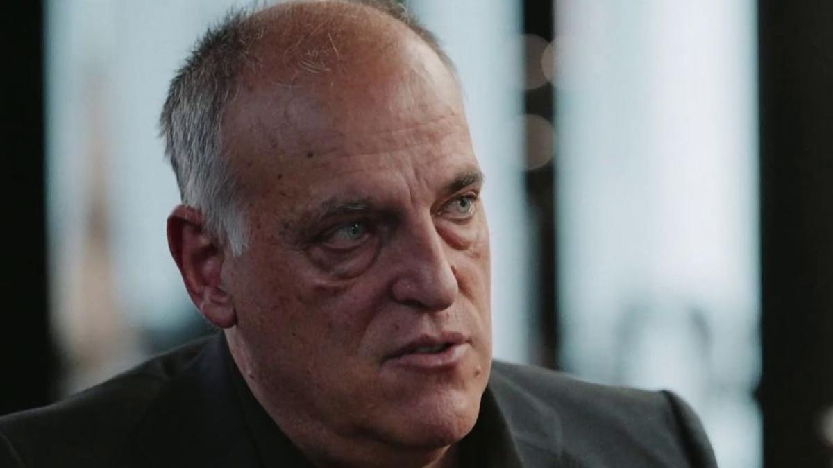 Javier Tebas, en 'Salvados' de laSexta