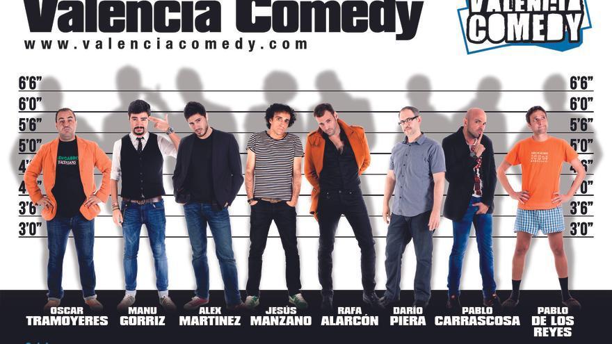 Valencia Comedy lleva a ocho cómicos a los escenarios valencianos