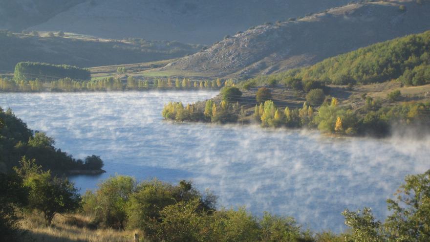 Fotografía de la comarca de Cervera de Pisuerga, en el norte de Palencia. J.S.