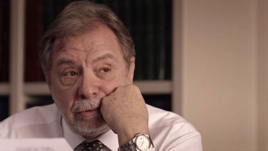 Juan Luis Cebrián, en un momento de la entrevista en el programa Salvados de La Sexta.