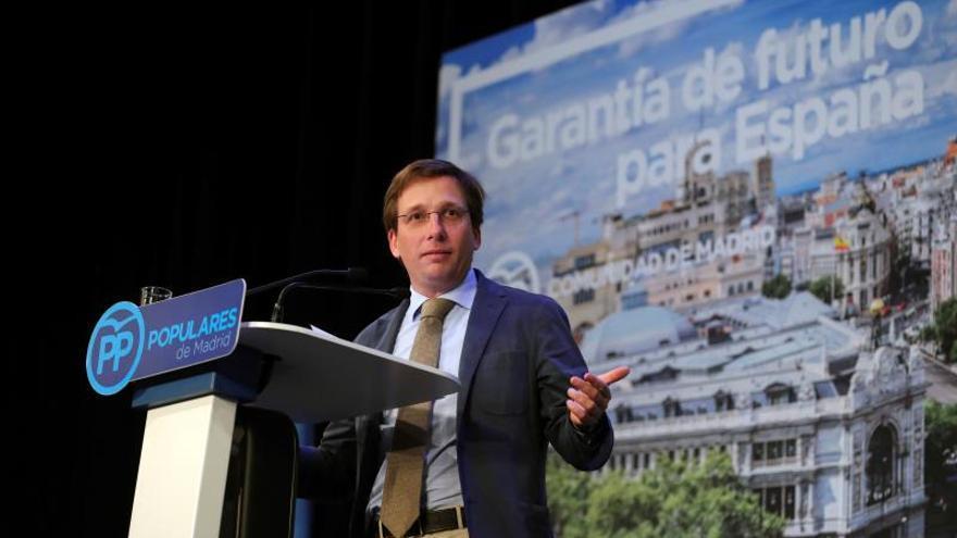José Luis Martínez Almeida, candidato del PP a la alcaldía de Madrid.