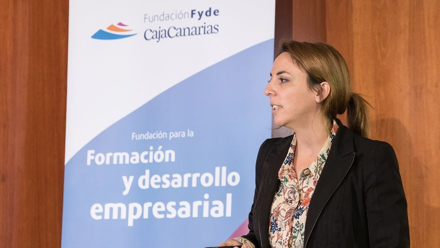 Yael Hernández, una de las fundadoras de la firma tinerfeña