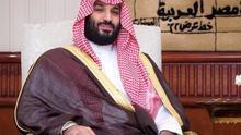 El príncipe heredero de Arabia Saudí, Mohamed bin Salmán.