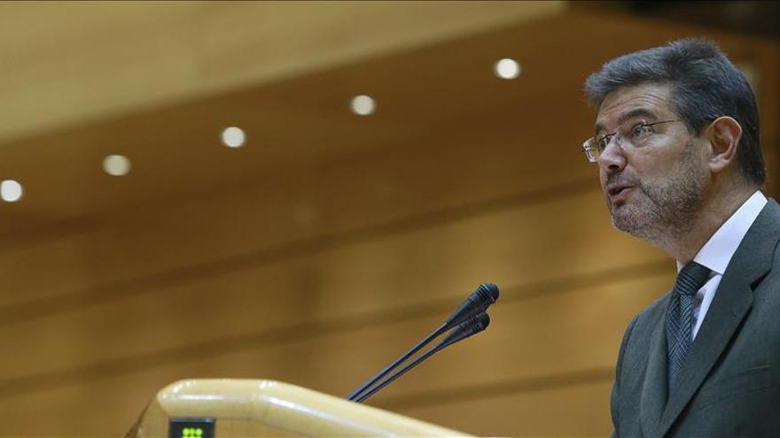 Catalá afirma que los medios en la justicia española no son insuficientes