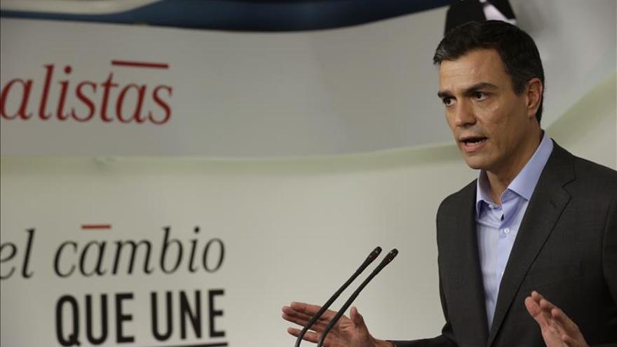"""Sánchez dice que el 20D la gente debe optar entre """"inmovilismo o progresismo"""""""