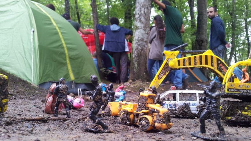 Encuentro activista en el Bosque del Norte de Estambul. Foto: Bernardo Gutiérrez