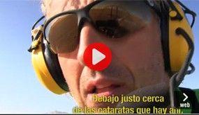 El accidente de Jesús Calleja volando en paramotor en su ultimo 'Desafío extremo'