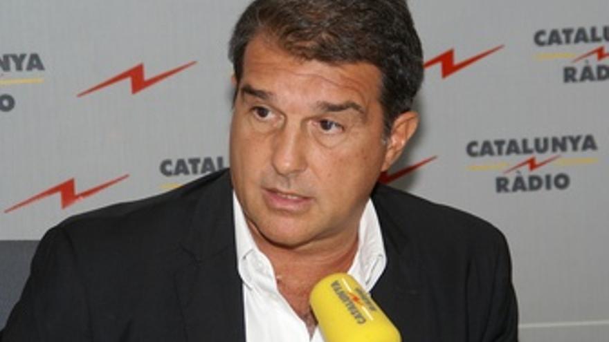 Joan Laporta En 'El Matí De Catalunya Ràdio'