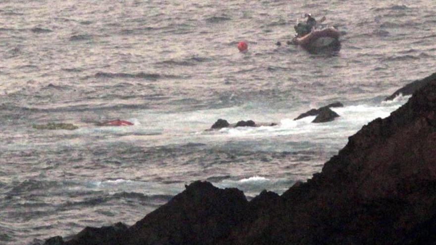 Hallado el cadáver de un joven desaparecido en una playa de Asturias