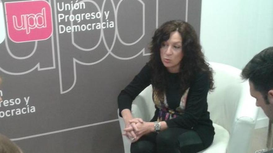 Alicia Andújar, coordinadora territorial de UPyD en la C.Valenciana
