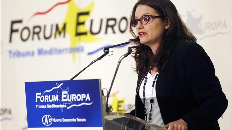 Compromís llevará a la Fiscalía los gastos de representación de Barberá de 278.000 euros