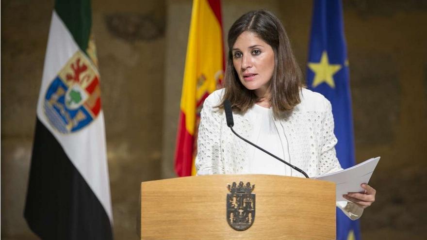 Isabel Gil Rosiña, portavoz de la Junta de Extremadura / www.gobex.es