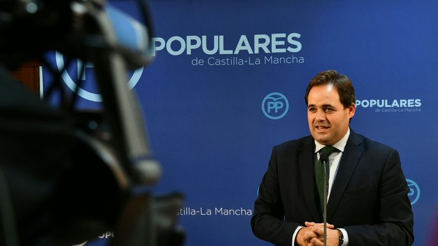 Francisco Núñez, presidente del PP de Castilla-La Mancha