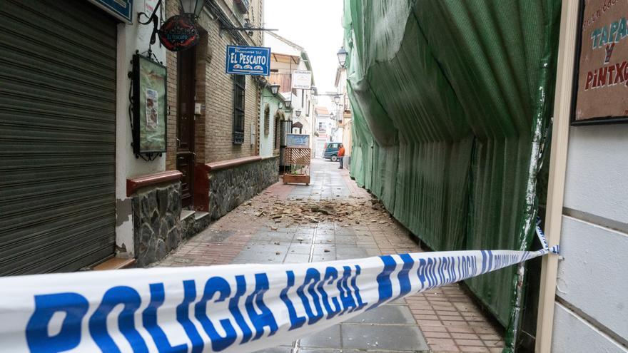 Un enjambre sísmico causa daños materiales y alerta a la población de Granada