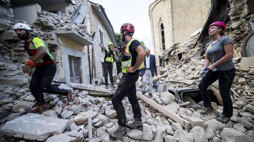 Una de las víctimas del terremoto en Italia es española, según la Cruz Roja