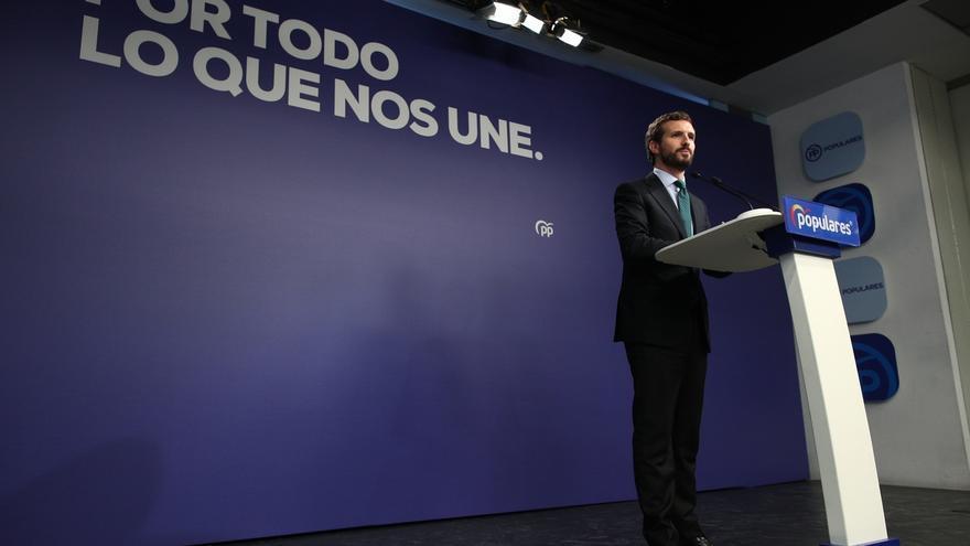 """Casado rechaza participar en un """"cordón sanitario"""" para excluir a Vox de la Mesa del Congreso"""