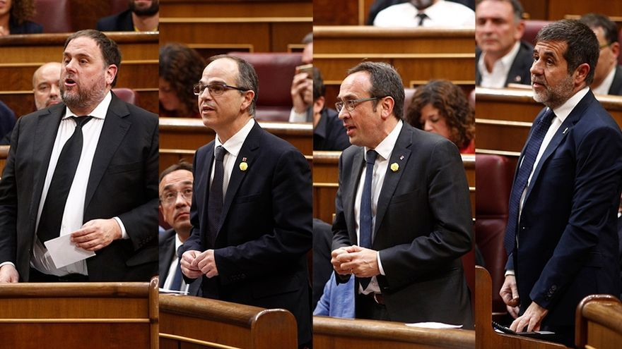 La Mesa del Congreso pide un informe a los letrados sobre la suspensión de los diputados presos y mañana decidirá