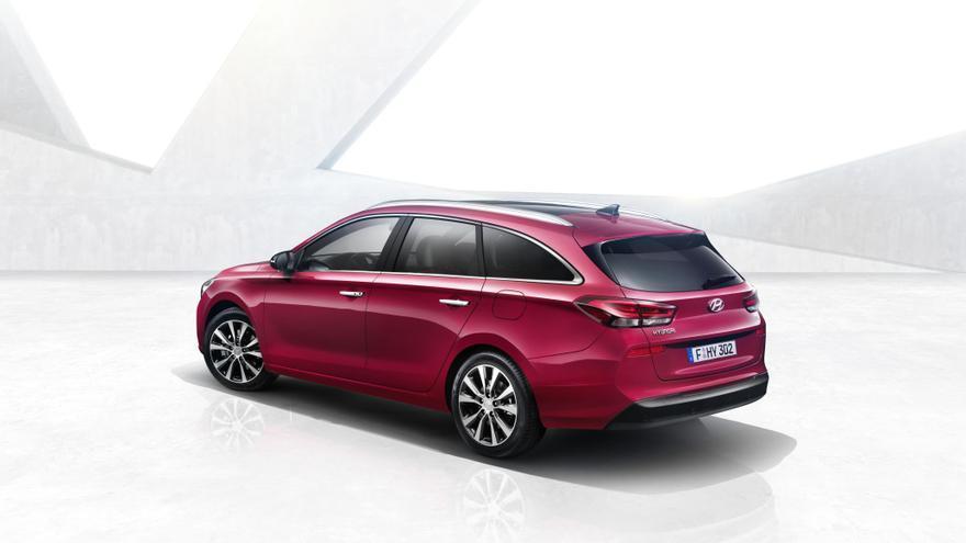 El diseño exterior del Hyundai i30 CW.