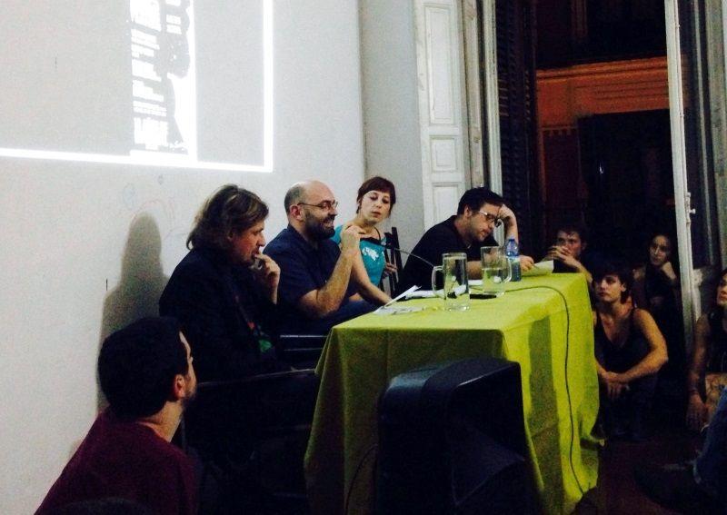 Foto de la presentación del libro en El Patio maravillas | foto cedida por Susana Galarreta @sugalarreta