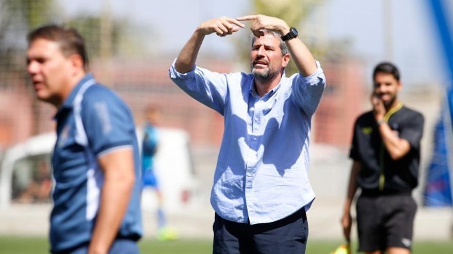 Manolo Márquez, nuevo entrenador de la UD Las Palmas.