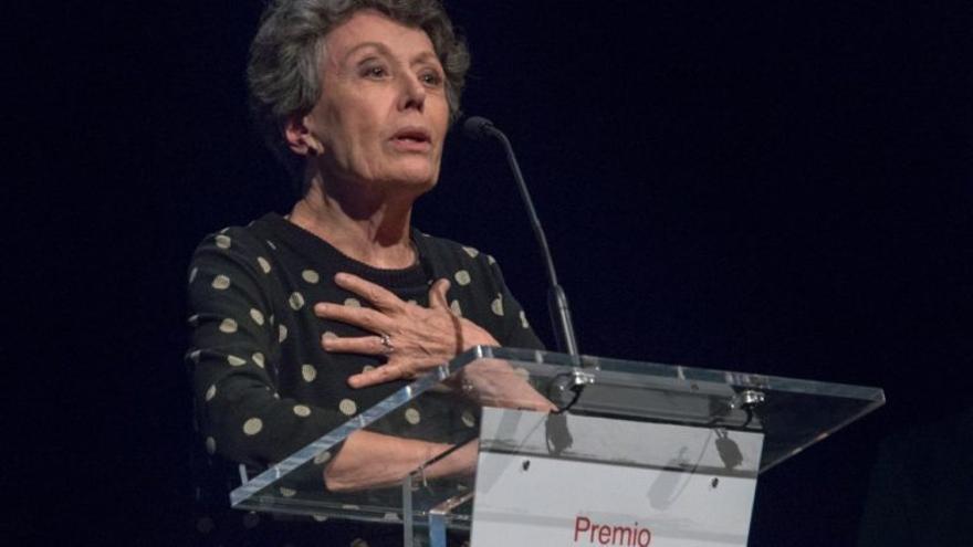Rosa María Mateo, en el Teatro de Rojas (Toledo)