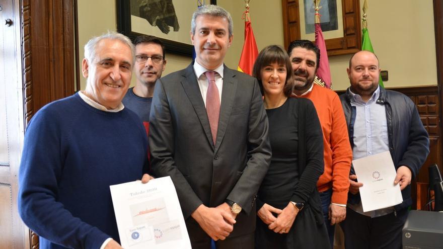 Encuentro de Eurotoques con el presidente de la Diputación